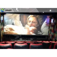 China 3D Glasses Screen 4D Cinema System Dynamic Movie Theater Equipment wholesale