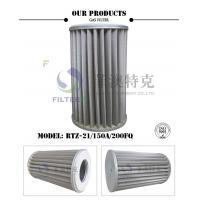 China Pleated Metal Mesh Gas Filter Element For Pipeline Industry 6.4MPa Pressure wholesale