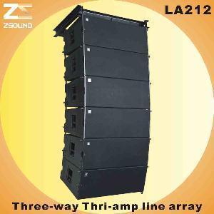 "China La212 Dual 12"" Outdoor Line Array System wholesale"