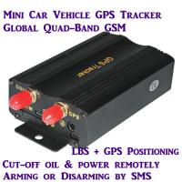 China New TK103A Global Car Auto GPS Vehicle Tracker W/ Real-time online tracking on Google Map wholesale