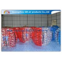 China Beautiful Inflatable Bumper Ball Soft / Human Inflatable Bumper Bubble Balls wholesale