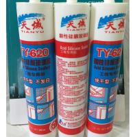 China Acid Clear Silicone Seala , Weatherproof Window Silicone Sealant wholesale