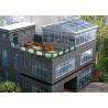 China Eco Environmental Aluminium Frame Greenhouse Sunroom For High Level Villa wholesale