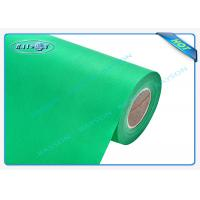 China Green OEM Non Woven Polypropylene Spunbond Fabric Recyclable / Eco Friendly wholesale