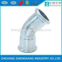 China Screwed Carbon Steel Pipe Fittings Time Saving For Thin Wall Ss Pipe on sale