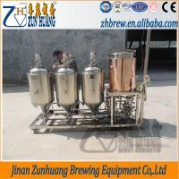 Buy cheap 100L small beer brewing system,homebrew laboratory test brewery used,micro from wholesalers