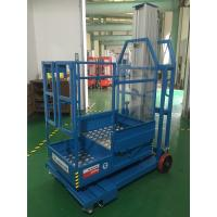 China 2.8m Mast Type Electric Order Picker , Semi - Electric Mobile Stock Picker wholesale