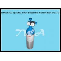 China 1.68L CO2 Beverage DOT Aluminium Gas Cylinder 111.2mm Diameter wholesale