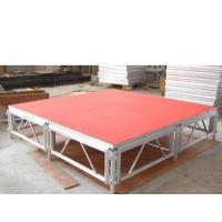 Buy cheap Silver Mobile stage platform made in GuangZhou XF-STAR from wholesalers