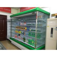 China Green Multideck Display Fridge , Convenience Store Refrigerators Large Capacity wholesale