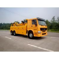 China Wrecker Tow Truck , 3 Winches Road Wrecker For Accidents And Parking Violations on sale