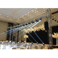 China Indoor / Outdoor Square Aluminum Lighting Truss For Stage , OEM Available wholesale