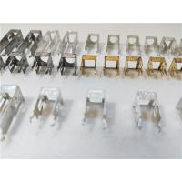 China Four Cavities Sheet Metal Bending Dies Remote Control Interface Connector 0.2mm Thickness wholesale