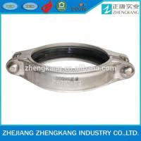 China Metal Hoop Stainless Steel Grooved Fittings Groove Coupling Pipe Fitting on sale