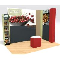 China Black Retail POS Displays , MDF Display Stands For Retail Products wholesale