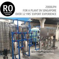 China 2TPH Singapore Ordered Commercial RO Water Filtration System wholesale