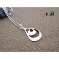 China Hot selling 925 sterling silver jewellery pendant W-VB865 Rhodium plating wholesale