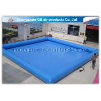 China Summer Party Inflatable Family Swimming Pool, Large Portable Swimming Pool For Rent wholesale