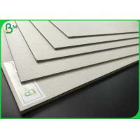 China High Density 700 x 1000mm Laminated Grey Board 1.35mm 1.5mm 2.0mm Grey Chipboard For Packaging wholesale