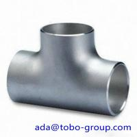 China 316 & 316L Stainless Steel Tee / Butt welding fittings 1/2 - 72 inch wholesale