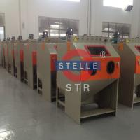 China Manual Small Sandblasting Cabinet to Remove Oxide of Mold Casting Parts Metal on sale