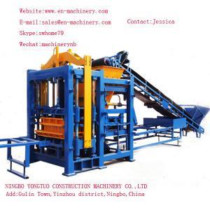 China German Concrete Block Making Machine 10-15 Turkish Block Making Machines with self-loading wholesale