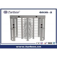 China Outdoor Full Height Access Control single lane and dual lane Turnstile Gate With A Direction Indicator on sale