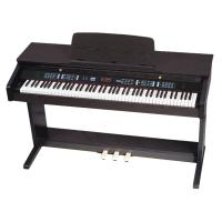 China Walnut Dark Brown Upright 88 key Digital Piano Electronic Piano DP8820 wholesale