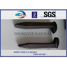 China AREMA Standard  Railroad Spike Types Dog Spike & Screw Spike Rail Fasteners wholesale