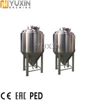 China 500L 1000L 2000L Mini Stainless steel beer fermenter for Sale wholesale
