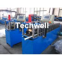 China Light Steel Truss Stud Roll Forming Machine Thickness 0.4-1.0mm , 70mm Axis Diameter wholesale