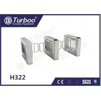 China Stainless Steel Swing Barrier Gate , Turnstyle Automatic Gates With Card Reader wholesale