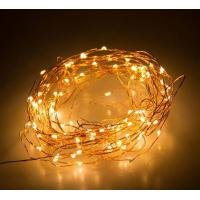China 10M / 10 Micro LEDs Battery Powered  Long Ultra Thin Copper Wire String Light, Decor Rope Light with Remote Control wholesale
