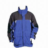 China Men's Winter Jackets, Made of Nylon wholesale