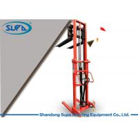 China Material Handling Hydraulic Pallet Stacker 680mm Fork Width To Transport Components wholesale