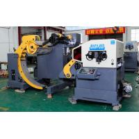 Buy cheap Stamping And Processing 3 In 1 Coil Straightener Feeder Decoiler , Servo Roll from wholesalers
