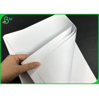 China Wood Free Plain Paper 55g 70g 120g White Printing Paper 24 * 35 inch Sheets wholesale