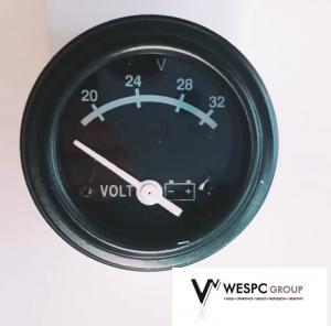 China Diesel 0 - 1.0mpa Generator Gauges Engine Oil Pressure Gauge 24V DC Voltage wholesale