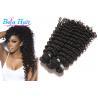 Buy cheap Grade 8A Malaysian Virgin Hair Curly Deep Wave No Mixture 100 Human Hair from wholesalers