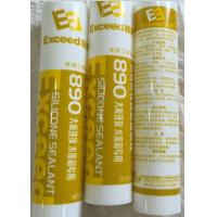 China Yellow Glass Silicone Sealant Wide Adhesion One - Component For Aquarium wholesale