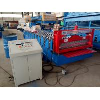 Corrugated Profile Roofing Sheet Bending Machine / Roll Forming Machine