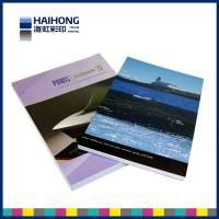 China OEM matte lamination or Aqueous coating Paperback Book Printing Coated art Paper , Offset Paper wholesale
