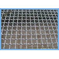 China 1/2 Inches Aluminum Crimped Woven Wire Mesh For Mine 1m X 25m Size wholesale