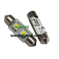 Buy cheap led Festoon canbus Light error free bright canbus bulb for auto from wholesalers