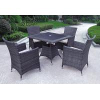 China Outdoor furniture wicker dinning table--9075 wholesale