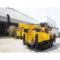 China Crawler Hydraulic Engine Drived Rock Drilling Rig , Mining Reverse Circulation Drilling Rig wholesale