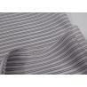 China Polyester Sleeve Lining Fabric Overcoat Lining Block Stripe Style wholesale