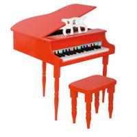 China Red / Black Childrens Wooden Grand Toy Wooden Piano / Mini Piano Set FW30B wholesale