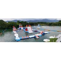 China HK Inflatable Floating Water Park Games Manufacturer / Inflatable Water Obstacle Course on sale