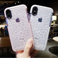 China Diamond Iphone X Xs Max Xsmax Gasbag Clear Cell Phone Protective Covers wholesale